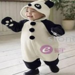 Youngsies Panda Suit Giveaway: 0-24 Months Onesie