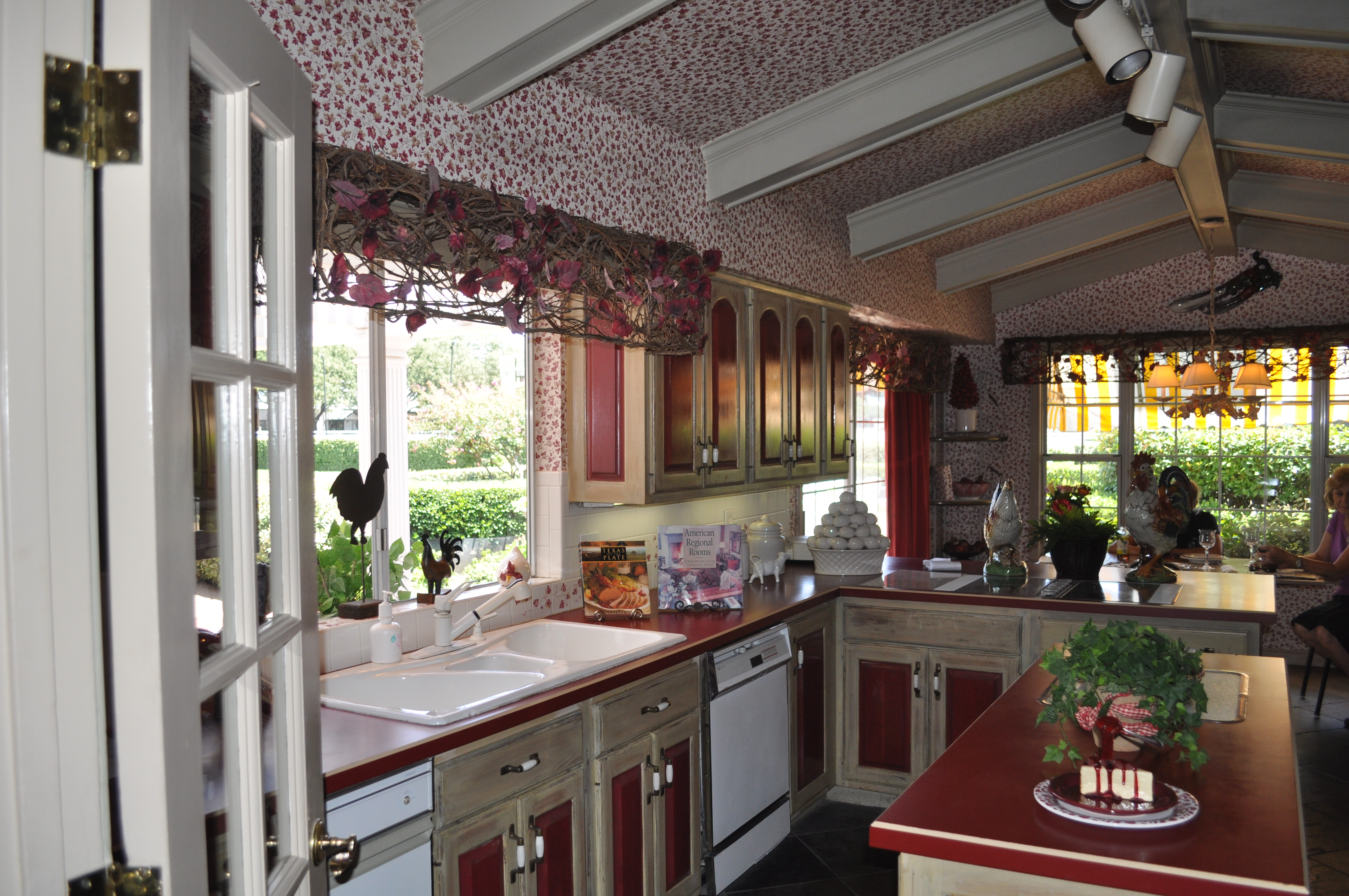 This Is The Southfork Mansion Kitchen. Many Scenes Were Filmed Here.