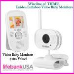 Lifebank Baby Monitor #Giveaway:  3 Winners Ends 3/25