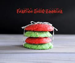 jello cookies Christmas