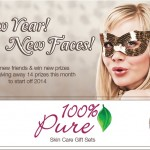 New Year! New Faces! Giveaway from BeautyEncounter.com ENDS Jan. 31
