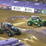 #MonsterJam #Houston Texas #Reliant Stadium