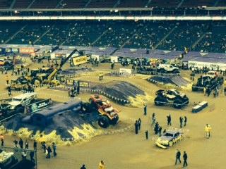 MonsterJam Houston Texas Reliant Stadium WwwBlogWithMomcom - Monster car show houston tx