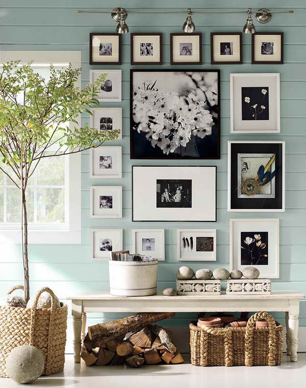 Creative Ways To Hang Pictures With Wall Wood