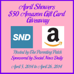 2014-04-05 April Showers $50 Amazon Gift Card Giveaway