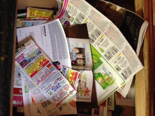 coupon drawer