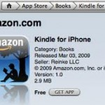 Review:  Kindle App For iPhones