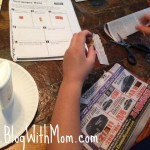 Fun Newspaper Number Activity For Kids