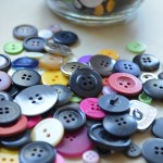 Art Craft: Make A Button Tree