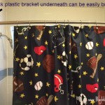 Teen Breaks Shower Curtain Rod Bracket TWICE