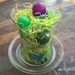 DIY:  Make a FUN Easter Candy Centerpiece