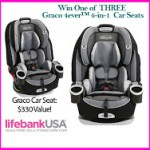 LifebankUSA Offering Graco Car Seat #Giveaway ENDS 5/29/15