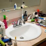 De-Cluttering Your Home:  Bathroom
