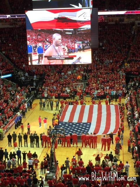 Rockets American Flag