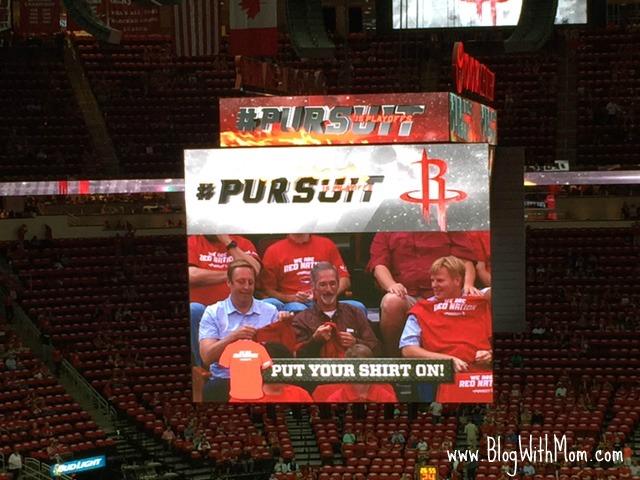 Rockets Shirt Banner