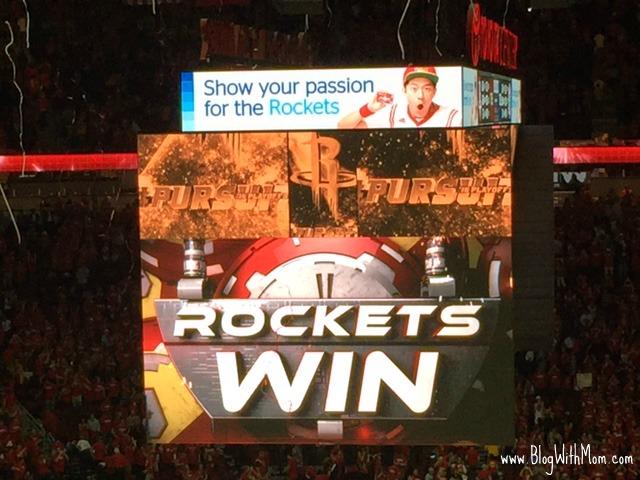 Rockets WIN