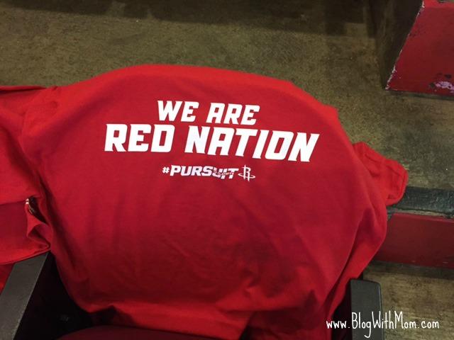 Rockets shirt