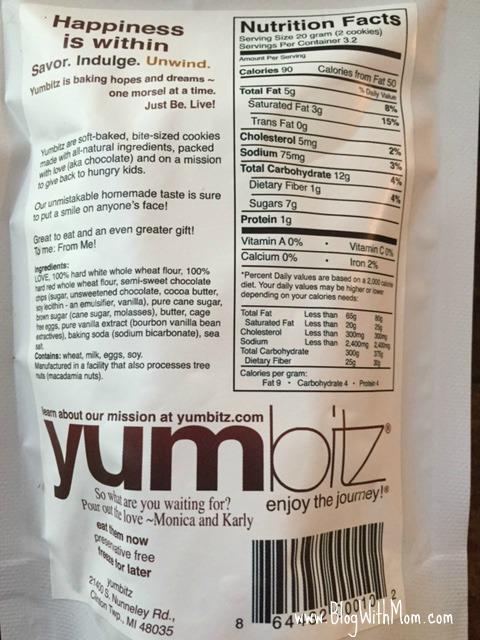 Yumbitz Nutritional Value