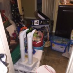 kids bathroom clutter