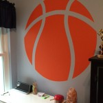 Basketball Wall Sticker From Icon Wall Stickers