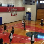 Sophomore Highlander's Basketball Game