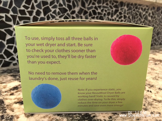 dryer balls directions