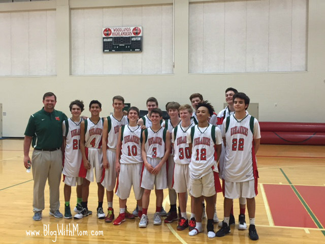 Sophomore Basketball Team Travis
