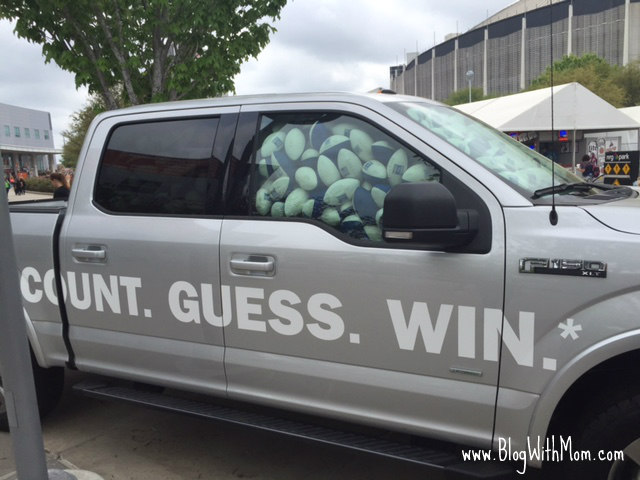 Truck Football Guess Rodeo
