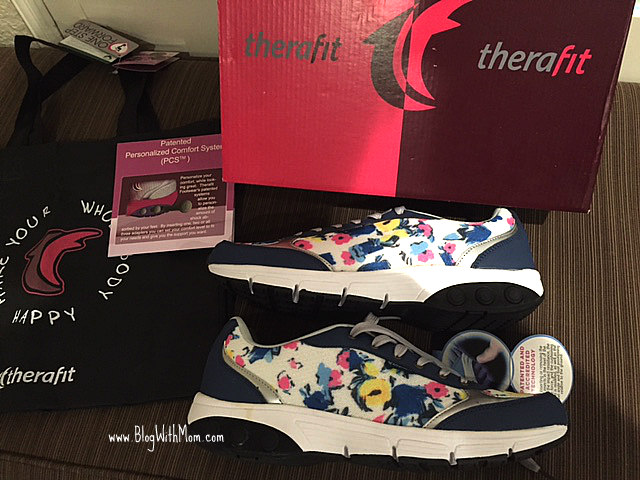 Therafit flower shoes 2