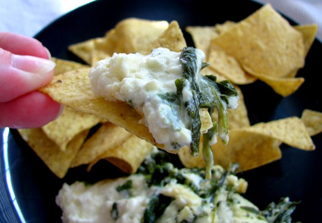 web spinach dip chip best