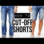 Convert Your Jeans To Shorts…