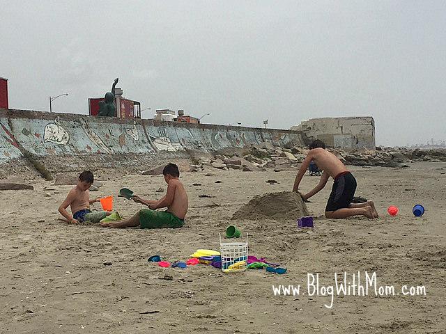 Travis Bobby Ryan beach Galveston
